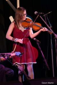 Dawn Martin, fiddler, from Irvine